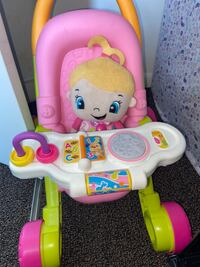 Fisher price Talking Stroller with talking baby doll