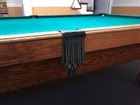 green and brown pool table Pittsfield, 03263