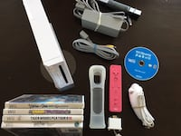 White Nintendo Wii Bundle With Controller And 5 Games Oshawa, L1G 5C4