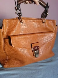 Authentic mulberry leather handbag  Calgary, T2A 3L8