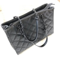 Black Aldo Tote (Chanel Style) North Vancouver, V7L 2N9