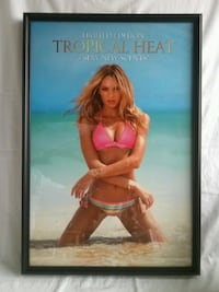 """Victoria Secret Poster Limited Edition """"Tropical Heat"""" Limited Edition  Franklin Park"""
