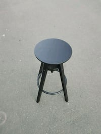 IKEA Stool - Black, adjustable Victoria