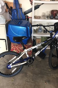 Bmx bike with new tires