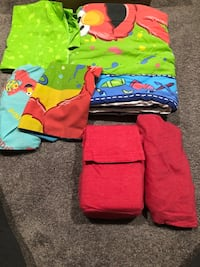 Elmo Toddler Bed Set w Bonus sheet set