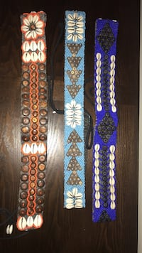 Beaded belts from Bali Edmonton, T6V 0G1