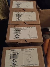 4 wac track lights Vaughan, L4L 1L8