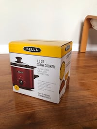 Bella 1.5qt slow cooker . Brand new East Rutherford, 07073