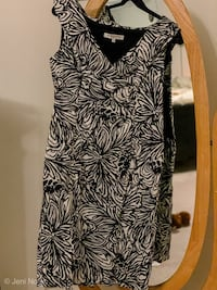 Black and White Print cocktail dress Cross Junction, 22625