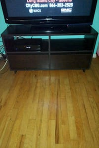 Wooden TV stand with draws Queens, 11420