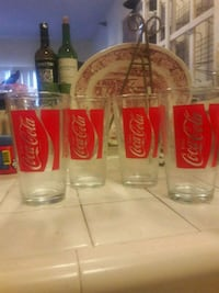 three Coca-Cola drinking glasses Whittier, 90602