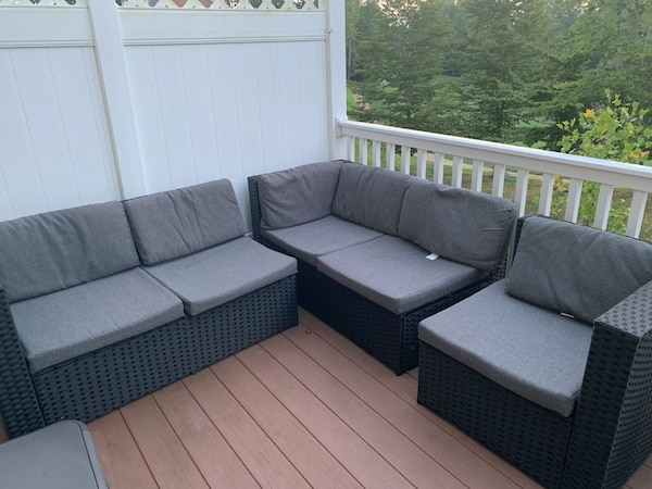 3 piece patio set