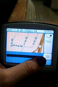 Tom tom gps system as seen in pics and videos Calgary, T2H 1B7