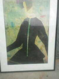 black wooden framed painting of woman Phoenix, 85009