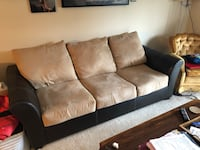 Leather/suede couch Knoxville, 37919