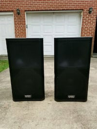 Like New QSC KW152 Two Way Speaker With Covers Lanham, 20706
