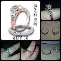 .925 silver ring set vintage skull style  Queen Creek, 85140