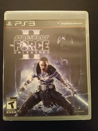 PS3 Star Wars the Force Unleashed 2 game Vaughan, L4L