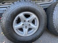 Jeep Wrangler TJ tires and rimes
