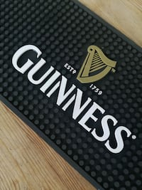 Guinness silikon bar matı