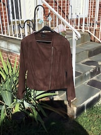Lane Bryant Suede Jacket with Fringe -Size 18/20 Washington
