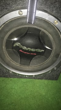 black and gray Pioneer subwoofer Westminster, 80031