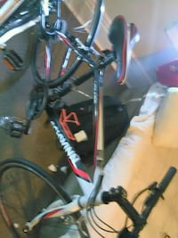 black and red hardtail bike 1961 km