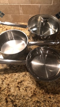 Wolfgang Puck Stainless Steel Cookware Silver Spring, 20902