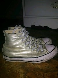Golden Converse all stars