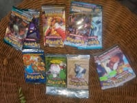 10 sealed pokemon card booster packs.vintage +wotc Toronto, M6N 4V7