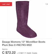 Dawg 13 Inch Microfiber Boot's