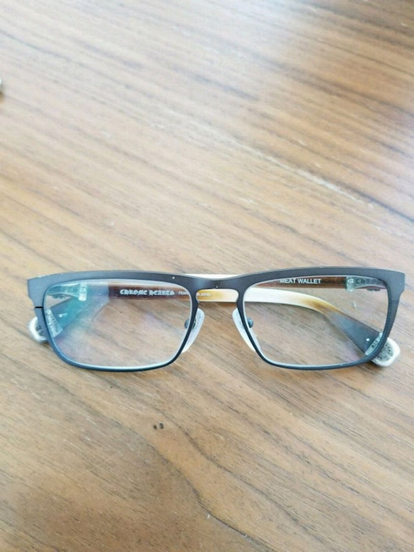 Used Chrome Heart Glassses - Meat Wallet FRAMES ONLY for sale in ...