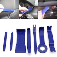 7 Piece Car Interior Dash Radio Door Clip Panel Trim Open Removal Tools Kit New Vancouver
