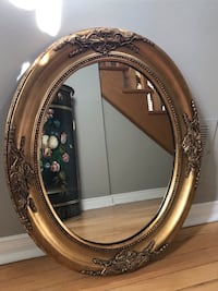Oval mirror gold Richmond Hill, L4E 3W1