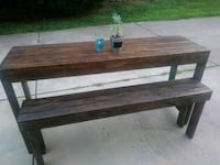 Sofa table and bench set.  Indian Trail, 28079