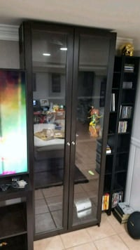 IKEA Billy Bookcase with Glass Doors Springfield, 22150