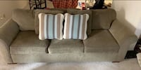 Gray fabric sofa 34 km