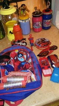 Spiderman stuff (pick up only) edinburg Edinburg, 78541