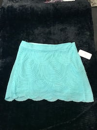 Turquoise skirt never worn - size m