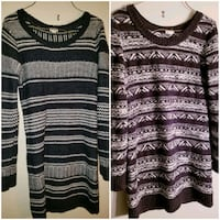 2 Garage Sweater Dresses  Barrie, L4N 9T3