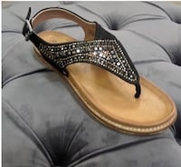 pair of brown leather sandals Weatherford, 73096