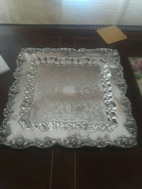 """14"""" TOWLE silver serving tray West Palm Beach, 33401"""