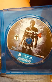 Uncharted 4. PS4 game case Toronto, M9V 4H9