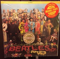 Beatle Album still in the cellophane wrapper. Marble vinyl very rare Bradford West Gwillimbury, L3Z
