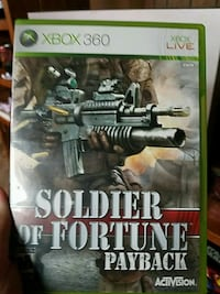 Xbox 360 Soldier of Fortune Payback case Clyde, 79510