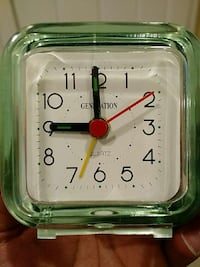 Clock with alarm Washington, 20002