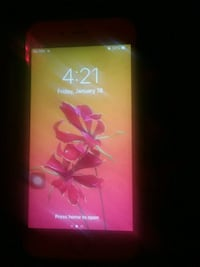 Rose gold i phone 6 with a band new screen  Clarksville, 37040