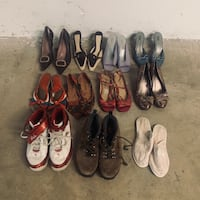O.B.O LOT OF WOMEN'S SHOES (SIZE 7-10) Vancouver, V5T 2M5