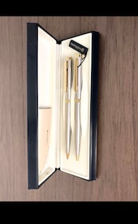BRAND NEW 24K GOLD PLATED PEN & PENCIL GIFT SET