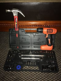 red and black Ridgid cordless hand drill Miami Gardens, 33056